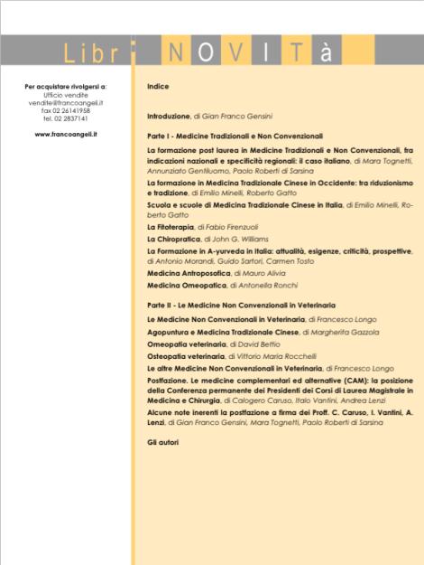 La formazione MNC in Italia 2
